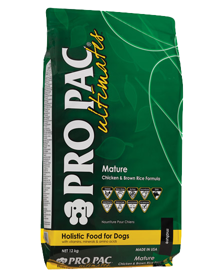 PRO PAC® Ultimates™ – Mature Chicken & Brown Rice 12kg