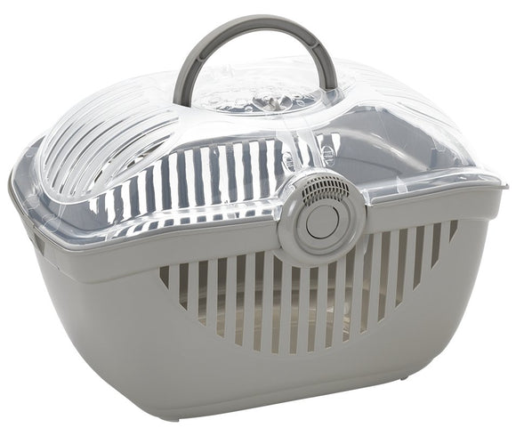 Pet Carrier - Top Runner - Warm  Grey