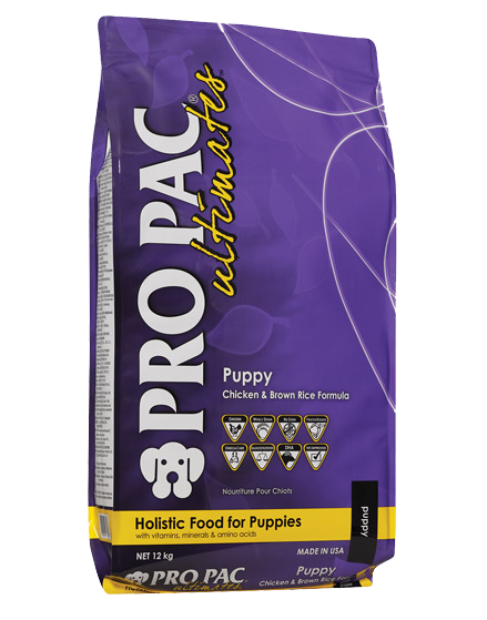 PRO PAC® Ultimates™ Puppy Chicken & Brown Rice Formula 2.5kg