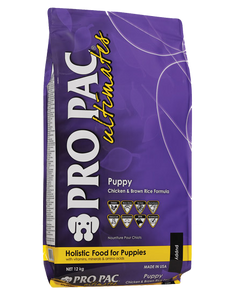 PRO PAC® Ultimates™ Puppy Chicken & Brown Rice Formula 12kg