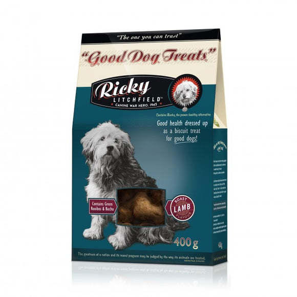 Ricky Litchfield Good Dog Treat - Roast Lamb