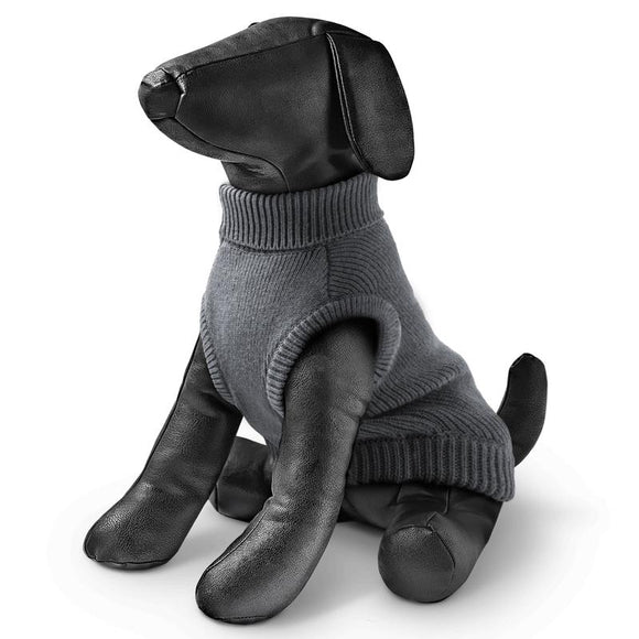 Rogz - Wolfskin Sweater for Dogs - Grey 32cm