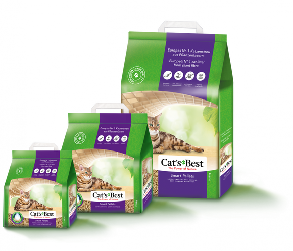 Cat's Best Smart Pellets - Soft Clumping Litter - 5kg