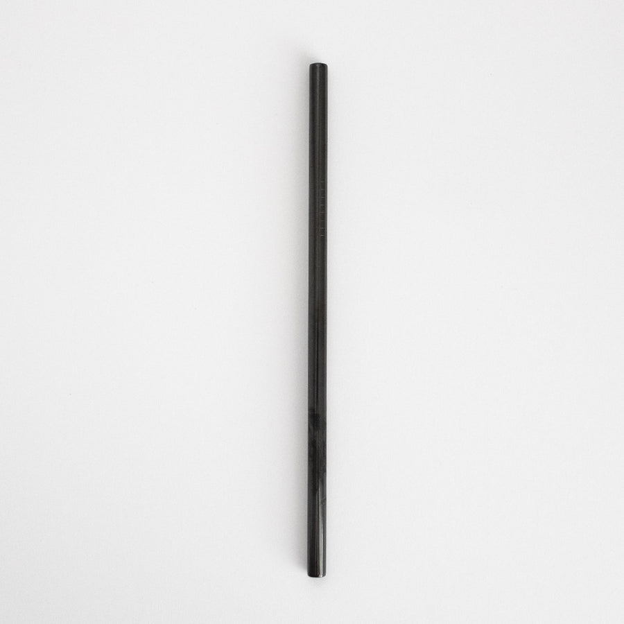 Stainless Steel Smoothie Straw - Black from Ample + Good