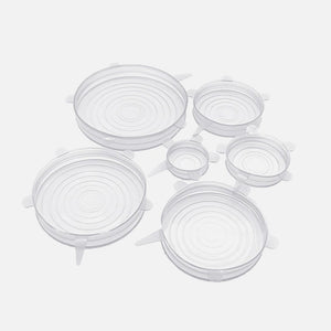 Stretch Silicone Bowl Cover Set from Ample + Good