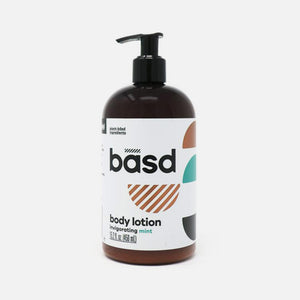 Body Lotion - Invigorating Mint from Basd