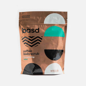 Coffee Scrub - Invigorating Mint from Basd
