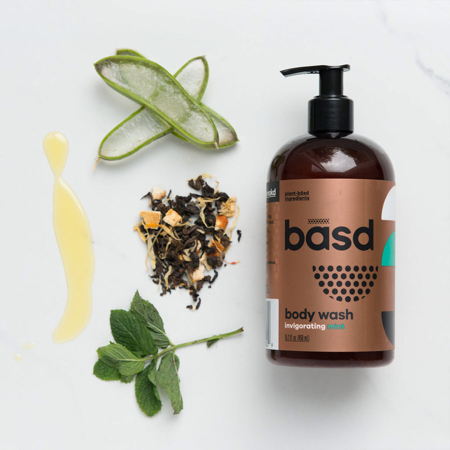 Body Wash - Invigorating Mint from Basd