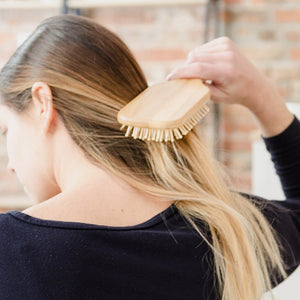 Bamboo Hair Brush from Bkind