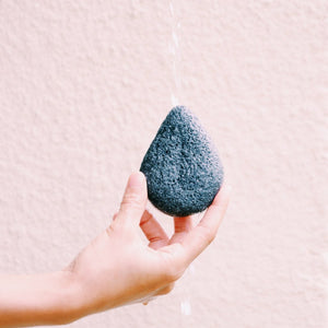 Konjac Facial Sponge - Bamboo Charcoal from Bkind