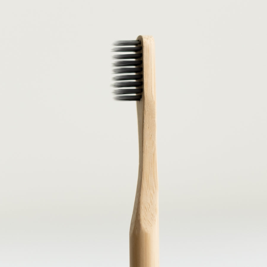Bamboo activated charcoal toothbrush - Adult from Brush Naked