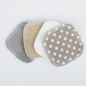 Reusable Cotton Facial Rounds - Pebble Beach from Cheeks Ahoy