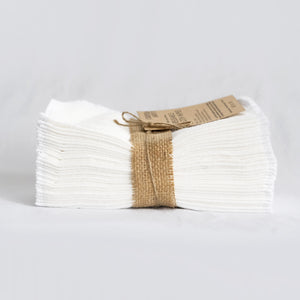 Cloth Wipes (Set of 30) - White from Cheeks Ahoy