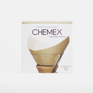 Bonded Filters - Pre-folded Squares from Chemex