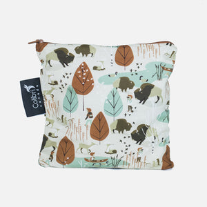 Large Reusable Snack Bag - Nature Walk from Colibri Canada