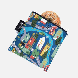 Large Reusable Snack Bag - Urban Cycle from Colibri