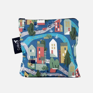 Large Reusable Snack Bag - Urban Cycle from Colibri Canada
