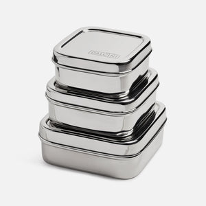 Nesting Square Containers - set of 3
