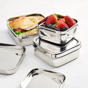 Nesting Square Containers - set of 3 from Dalcini Stainless