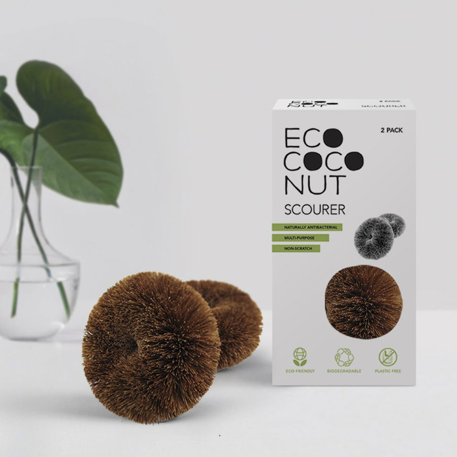 Coconut Scourers 2-pack from EcoCoconut