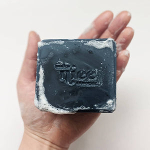 Solid Dish Soap - Charcoal from Make Nice Company