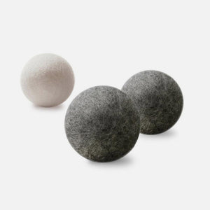 Wool Dryer Balls - Set of 3 from Moss Creek Wool Works