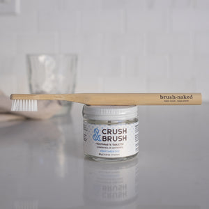 Crush & Brush Toothpaste Tablets - Mint from Nelson Naturals