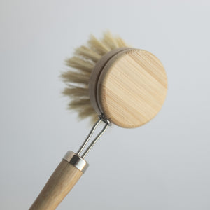 Bamboo Dish Brush Set from No Tox Life