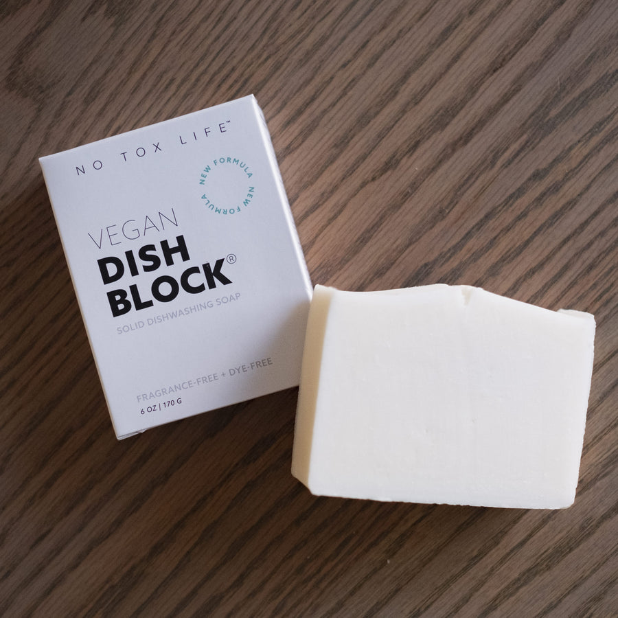 Dish Washing Block from No Tox Life