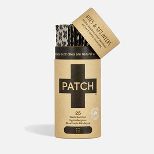 Organic Bamboo Bandages - Activated Charcoal from PATCH