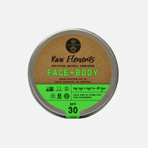 Face + Body Sunscreen SPF 30 from Raw Elements