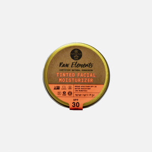 Tinted Face Moisturizer SPF 30 from Raw Elements