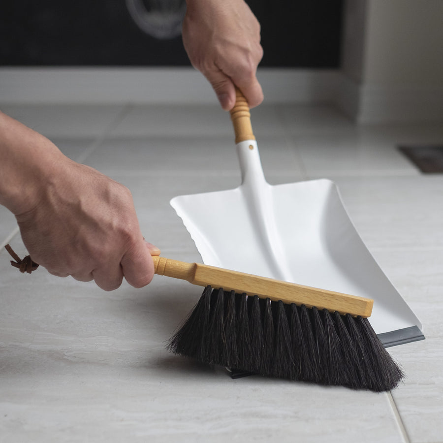 Dustpan and Hand Brush Set from Redecker