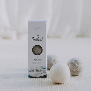 Wool Dryer Balls from The Unscented Company