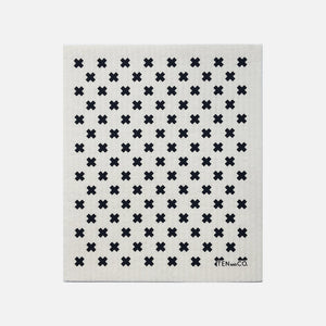 Swedish Sponge Cloth - Tiny X from Ten & Co.