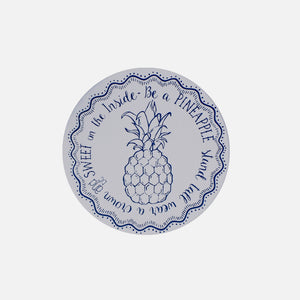 Unwaxed fabric bowl cover - Small - Pineapple from Your Green Kitchen