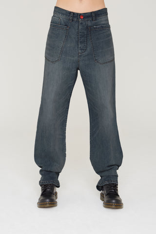 Lubi carpenter denim jeans in dark wash