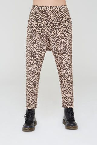 Musa Silk Harem Pants in Wild Thing print