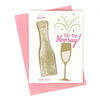 Feeling Smitten - Sip Sip Hooray! Bath Card