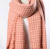 Plaid Blanket Blush Scarf