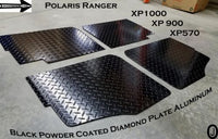 Polaris Ranger Crew XP900/XP1000 Aluminum Diamond Plate Floor Cover