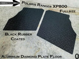 Polaris Ranger XP800 Fullsize Aluminum Diamond Plate Floor Cover
