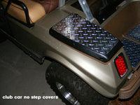 CLUB CAR DS DIAMOND PLATE NO STEP COVERS
