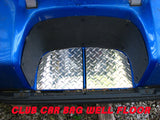 CLUB CAR DIAMOND PLATE BAG WELL FLOOR