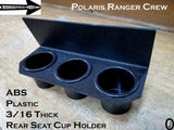 Polaris Ranger Crew 3 Cup Holder Aluminum Diamond Plate