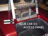 CLUB CAR DIAMOND PLATE ACCESS COVER