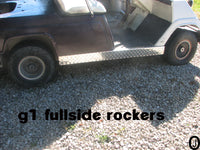 YAMAHA G1 Golf Cart Highly Polished Aluminum Diamond Plate FULLSIDE Panels