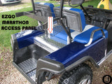 EzGo Marathon Golf Cart Highly Polished Diamond Plate custom made Access Panel