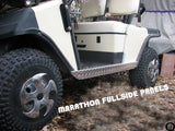 EzGo Marathon Golf Cart Aluminum Diamond Plate FULLSIDE ROCKER