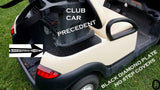 Club Car PRECEDENT golf cart BLACK Rubber Coated Diamond plate No Step Covers